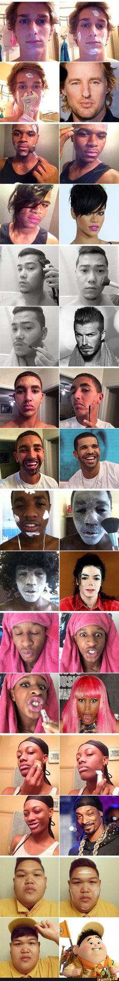 boys, with, makeup, celebrities