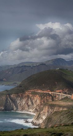 This is one of my favorite views of Bixby Bridge on the Big Sur Coast. It's just one of the things I love about the area.