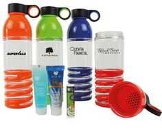 Helix Water Bottle with Pro Series Cheap Promotional Items, World Yoga Day, Product Offering, Water Bottle, Cool Stuff, Drinks, Cool Things, Water Bottles, Drink