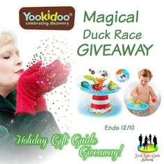 Join the Yookidoo Musical Duck Race U.S. Giveaway and get a chance to win a Musical Duck Race Bath Toy worth $40!