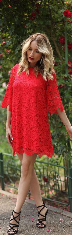 Lace Dress / Fashiob By Postolatieva