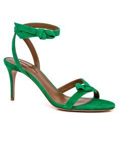 Aquazzura   Jungle Green Passion Sandal   Sandals   Shoes