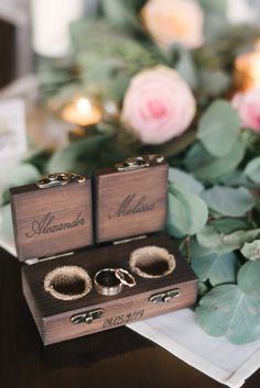 Pictures that were send to me by happy customers! handmade from raw materials Customized Engraving Wood Guest Book, Rustic Wedding Guest Book, Ring Holder Wedding, Wedding Rings, Vintage Ring Box, Proposal Ring Box, Wooden Ring Box, Ring Bearer Box, Wood Rings