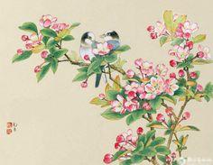 女画家刘菊清工笔作品欣赏