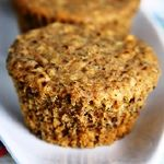 Vegan Oatmeal Raisen muffin that I am going to make.  I will sub the oil for chopped carrots & apple sauce