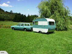 Retro New Zealand1963 Zephyr Caravan - 10ft