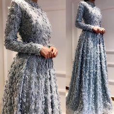 Tamamı elişi olan modelimiz#lazazagülcan #lazaza #tasarım #hijab #fashion #moda #style #tesettur