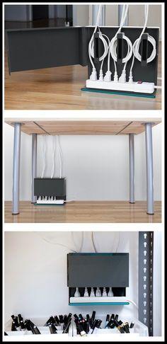 Plug Hub Under Desk Power Station – $25 #Weyley