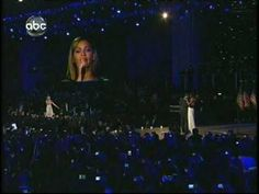 """Beyonce Sings """"At Last"""" for President Obama and First Lady's Dance-one of my favorite TV moments."""