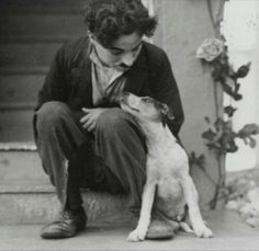 Chaplin and Jack Russell