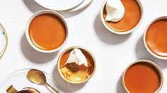 These Burnt-Caramel Custards can be made ahead. -- Uses 6 large egg yolks