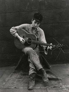 John Cohen. B Dylan