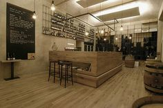 restuarant design | Restaurant Design: RED Pif Wine Restaurant by Aulik Fiser Architekti ...
