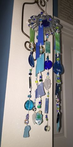 A personal favorite from my Etsy shop https://www.etsy.com/listing/252573125/beach-glass-seashell-mobiles-order-your