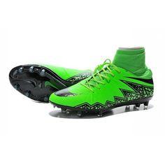 low priced b39a7 ff02e 2015 Nike HyperVenom Phantom II FG Football Boots Green Black