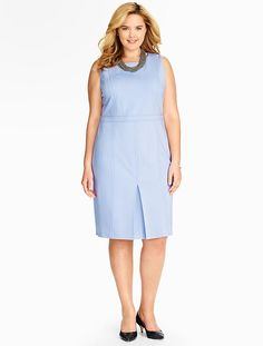 Talbots - Refined Ponte Sheath | Dresses | Woman