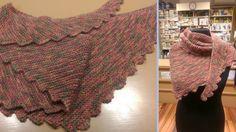 Baktus ai ferri - Tutorial sciarpa a coda di drago | How to knit a drago...