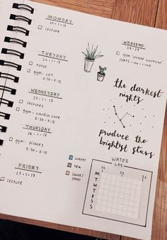 Ex astris, scientia bullet journal layout, bullet journals, school hacks, school tips School Hacks, School Tips, Bullet Journal Layout, Bullet Journals, Cute Notes, Layout Inspiration, Study Tips, Organization Hacks, Getting Organized