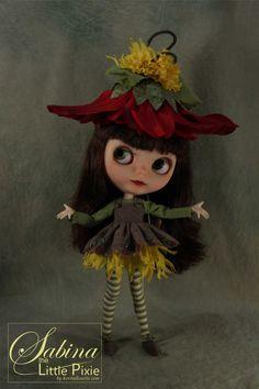 Sabina the Little Pixie OOAK Custom Blythe LAYAWAY AVAILABLE