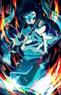 Legend of Korra: avatar wan Avatar Wan, Korra Avatar, Team Avatar, Blade Runner, Avatar Series, Legend Of Korra, Disney Fan Art, Avatar The Last Airbender, Fantasy Art