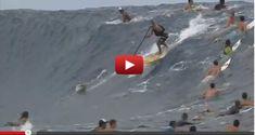 Some Pretty Insane Teahupoo Footage!