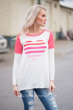 Sweet Talk To Me Long Sleeve Top (Ivory)