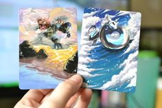 Artist Repaints Pokemon Cards and Makes Them Way Better Than the Originals - BlazePress