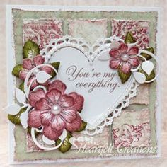 sparkling poinsettia heartfelt creations youtube - Google Search