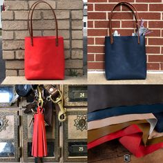 Small Red BAG ONLY Weaver Leather Throw Line Storage Bag