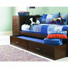 Captian Style Daybeds Kendall Twin Daybed With Dresser