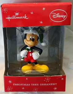 Hallmark Disney Mickey Mouse Christmas Ornament New $19.99