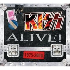 """The """"KISS Alive! collection by KISS was released on November I Love It Loud, I Still Love You, Heavens On Fire, Detroit Rock City, Big Kiss, Paul Stanley, Love Gun, Heavy Rock, Star Spangled Banner"""