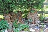 """What's a fairy garden? According to URI Master Gardener Jennie Sadler, it's """"a miniature garden created to attract fairies. It can have rocks as a path, tiny plants ..."""