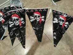 Pirate flags for decoration