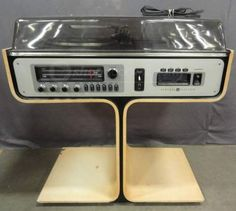 Vintage General Electric Stereo Music System