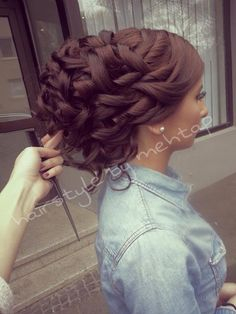 .Awesome updo. More