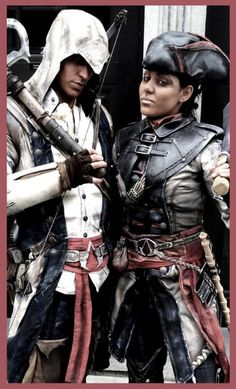 Assassin's Creed 3 Cosplay