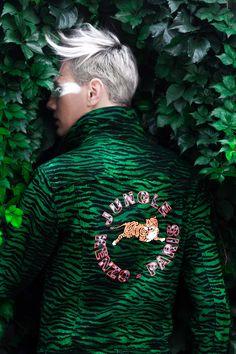 Urban Jungle (Kenzo x H&M editorial) - Eduard Enache Style Challenge, Big Fashion, Kenzo, Editorial, Turtle Neck, Urban, Mood, Collection