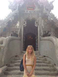Wat Sri Suphan, the silver temple in Thailand.