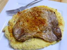 Cookin' Cowgirl: Cheesy Bacon Grits and Skillet Pork Chops