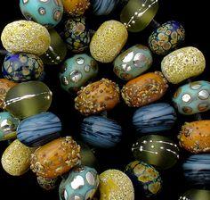 DSG Beads Handmade Organic Lampwork Glass Bahama   eBay