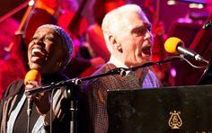 Georgie Fame & Madeline Bell at Cheltenham Jazz Festival 2011. Photo by Lisa Wynn