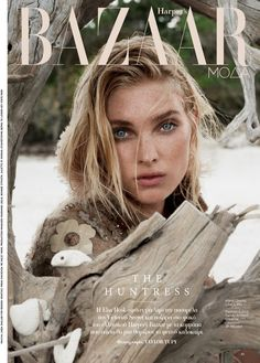 Elsa Hosk poses in beach fashions for the editorial // moda praia capa Harper's Bazaar Greece Elsa Hosk, Fashion Magazine Cover, Fashion Cover, Love Fashion, Magazine Covers, Fashion Pics, Fashion Shoot, Street Fashion, Fashion Brands