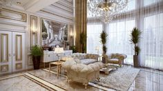 Interior Design Styles. Neoclassical Interior Designs Inspiration. Onyapan Home…