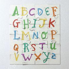 Magnetic Alphabet Puzzle Tutorial | Analisa Murenin for Silhouette