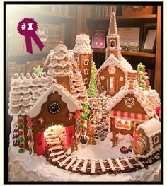 Gingerbread Town, for those who have mastered houses and have plenty of time