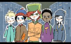 DeviantArt is the world's largest online social community for artists and art enthusiasts, allowing people to connect through the creation and sharing of art. South Park Funny, South Park Anime, South Park Fanart, Adventure Time, Style South Park, Stan Marsh, Goin Down, Cartoon Books, Slash