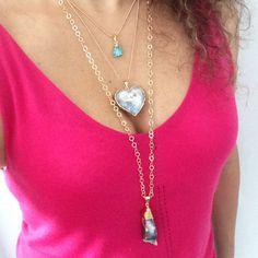 Collares Druzas By Anna Cavallo. Disponibles en www.annacavallo.com