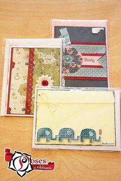 thank you cards handmade