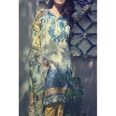Multicolor Digital Printed Linen Salwar Kameez Contact: (702) 751-3523  Email…